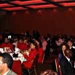 Un aperçu du banquet organisé à l'Hôtel Delta Centre-Ville, le 30 avril 2005