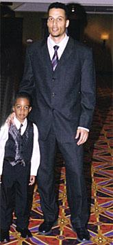 Davy ... et David, le plus jeune des invités