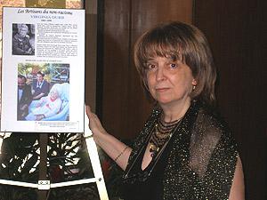 Jacqueline Pecqueur, recherchiste et rédactrice du livret « Regard sur le non-racisme et le génie inventif des Noirs »