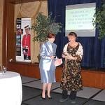 Line Chaloux, directrice générale de l'organisme COFFRET à Saint-Jérôme, récipiendaire du prix Rosa Parks & Virginia Durr