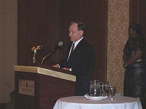 Allocution de M. Raymond Bachand, ministre du Développement économique, de l'Innovation et de l'Exportation