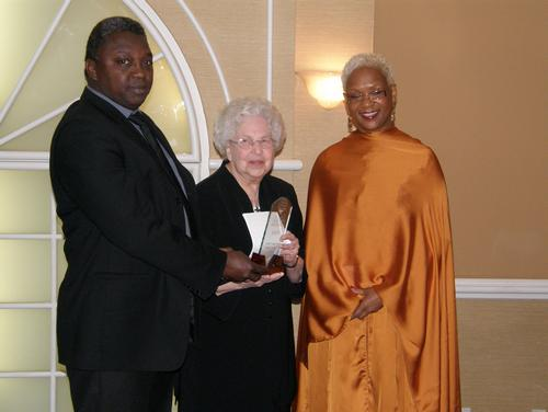 Sœur Andrée Ménard, fondatrice de l'organisme PROMIS, récipiendaire du Prix Rosa Parks & Virginia Durr